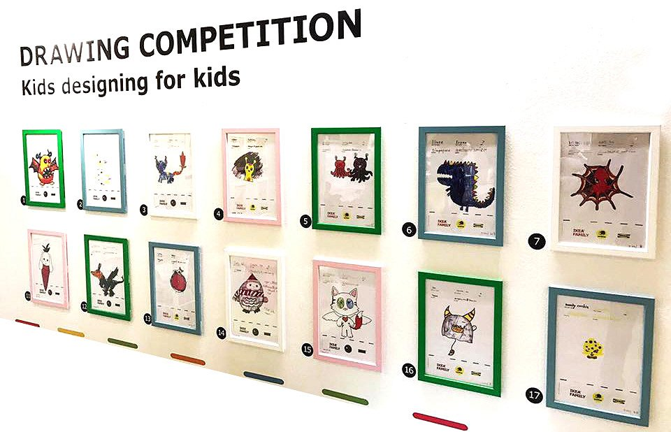 IKEA Soft Toy Global Drawing Competition 2016 3